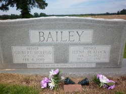 Gilbert McLeod Bailey, Sr