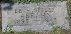 Beth <i>Sigler</i> Abrams