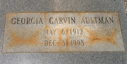 Georgia <i>Garvin</i> Aultman