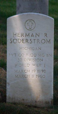 Herman R Soderstrom