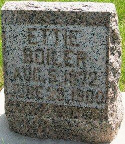Ettie <i>Hoover</i> Boiler
