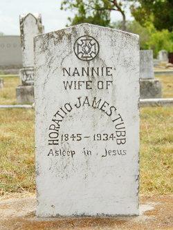 Nancy Amanda Nannie <i>Tubb</i> Tubb
