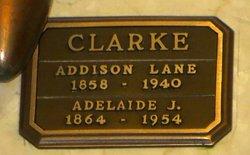 Adelaide <i>Johnston</i> Clarke