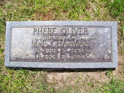 Phebe Phoebe <i>Oliver</i> Chapman