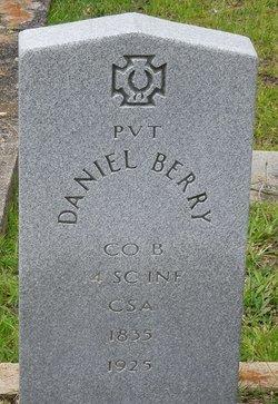 Pvt Daniel Byrd Berry