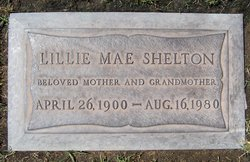 Lillie Mae <i>Skelton</i> Shelton