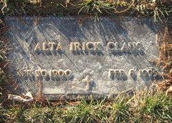 Alta Edna <i>Irick</i> Claus