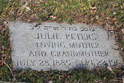 Julie <i>Weill Lasker</i> Peters