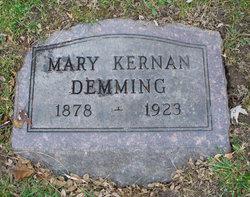 Mary <i>Kernan</i> Demming