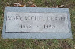 Mary <i>Michel</i> Dexter
