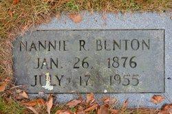 Nannie R. Benton