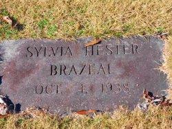 Sylvia <i>Hester</i> Brazeal