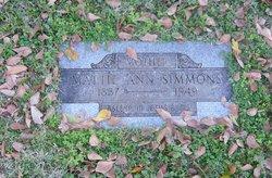 Martha A. Mattie <i>Busby</i> Simmons