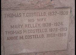 Mary <i>Kelley</i> Costello