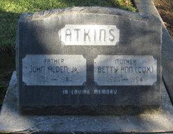 Betty Ann <i>Cox</i> Atkins