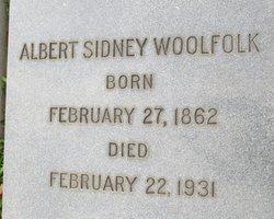 Albert Sidney Woolfolk