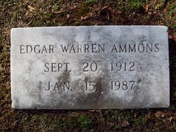 Edgar Warren Ammons