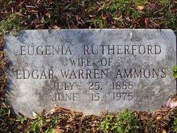Eugenia <i>Rutherford</i> Ammons