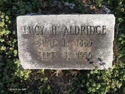 Lucy H. Aldridge