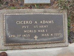 Cicero A. Adams