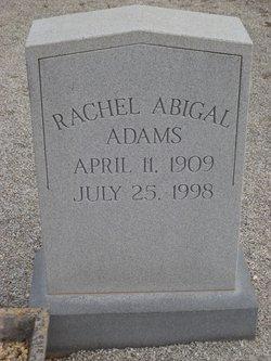 Rachel Abigal Adams