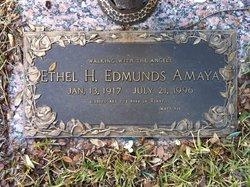 Ethel H <i>Edmunds</i> Amaya