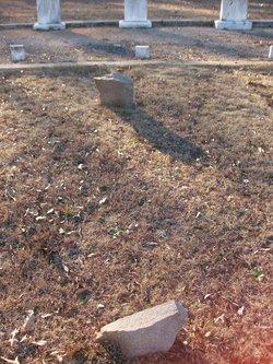 Unmarked Gunn Grave