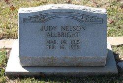 Judy <i>Nelson</i> Allbright