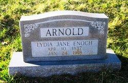 Lydia Jane <i>Horington</i> Arnold Enoch