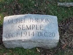 Muriel Jerdone Semple