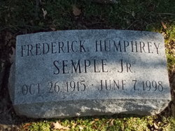 Frederick Humphrey Semple, Jr