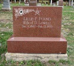 Lillie F <i>Pound</i> Lowell
