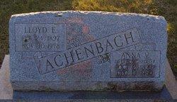 Anna Virginia <i>Bomgardner</i> Achenbach