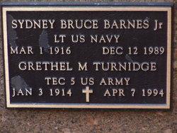 Sydney Bruce Barnes, Jr