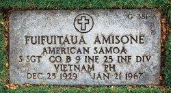 Sgt Fuifuitaua Amisone