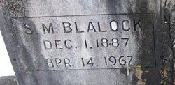 Samuel Mitchell Blalock, Sr