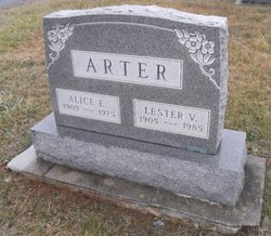 Alice E <i>Warehime</i> Arter