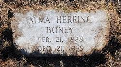 Mary Alma Alma <i>Herring</i> Boney