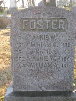 Anna Watson <i>Harvey</i> Foster