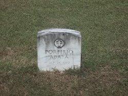 Porfirio Abaya
