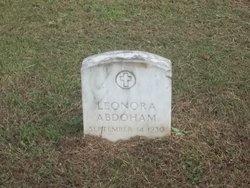 Leonora Abdoham