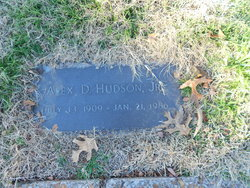 Alexander Davidson Alex Hudson, Jr