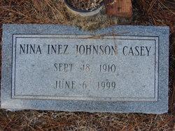 Nina Inez <i>Johnson</i> Casey