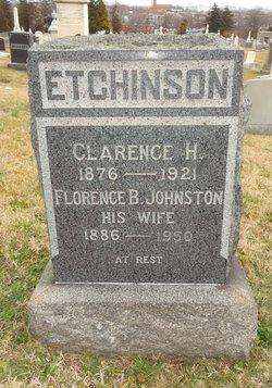 Florence B <i>Johnson</i> Etchinson