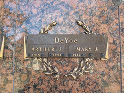 Mary Josephine <i>Eby</i> DeYoe