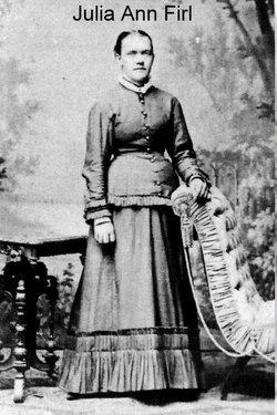 Julia Ann Ernestine <i>Firl</i> Fredrich