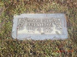 Margaret Mae Maggie <i>Collins</i> Akerstrom