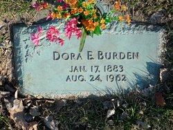 Dora Ellen <i>Claunch</i> Burden