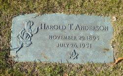 Harold Thompson Anderson