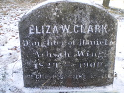 Eliza W. <i>Wing</i> Clark